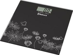 Весы напольные Sakura SA-5065 ultraslim (черные)Весы напольные<br><br>