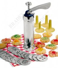 Шприц для печенья Домашняя кондитерская Bradex TK 0168Товары для выпечки<br><br>