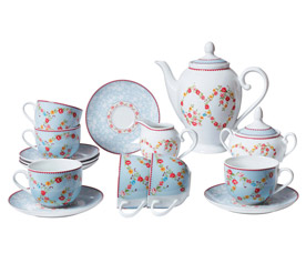 Чайный сервиз Bekker BK-7143 (15пр 6 перс)Сервировка стола<br><br>
