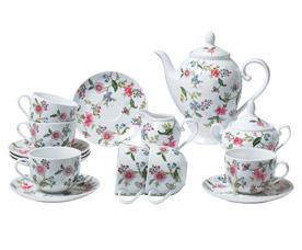 Чайный сервиз Bekker BK-7144 (15пр 6 перс)Сервировка стола<br><br>
