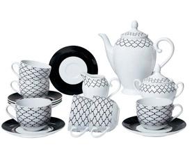 Чайный сервиз Bekker BK-7145 (15пр 6 перс)Сервировка стола<br><br>