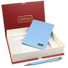 Обложка для паспорта, ручка-стилус шариковая Venuse 76020Сувениры<br><br>