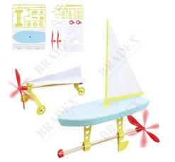 Набор для сборки моделей с пропеллером Юный инженер Bradex DE 0121игрушки<br><br>