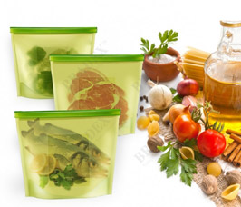Пакет-контейнер силиконовый многофункциональный Bradex TK 0177Хранение продуктов<br><br>
