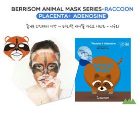 Маска для лица серии Berrisom Animal mask – Енот 25мл 8809211650941Корейская косметика<br><br>