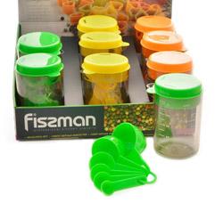 Набор мерных емкостей 8 предметов Fissman 7526Кухонные аксессуары<br><br>