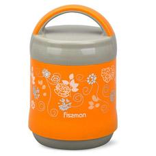 Термос для пищи 1200 мл оранжевый Fissman 7934Чайники и термосы<br><br>