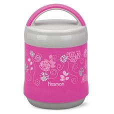 Термос для пищи 1200 мл розовый Fissman 7937Чайники и термосы<br><br>