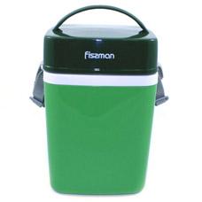 Термос для пищи с тремя контейнерами зеленый 2000 мл Fissman 7942Чайники и термосы<br><br>