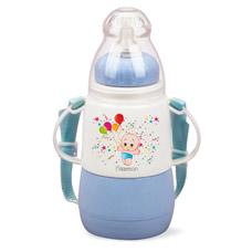 Термо - бутылочка для кормления 150 мл голубая Fissman 7951Детская посуда<br><br>