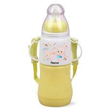 Бутылочка для кормления 230 мл желтая Fissman 7957Детская посуда<br><br>