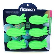Форма для выпечки 6 кексов Самолетики 22 x 20 x 2,5 см Fissman 6727Выпечка<br><br>