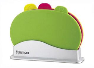 Набор из трех разделочных досок 29 х 20 см Fissman 8797Ножи и столовые приборы<br><br>