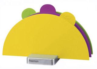 Набор из 3-х складных досок 28 х 28 см Fissman 8798Ножи и столовые приборы<br><br>