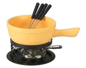 Набор для приготовления сырного фондю Amber 9 пр. Fissman 6352Кухонные аксессуары<br><br>