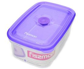 Прямоугольный контейнер для хранения продуктов 19.5 x 13 x 7.5 см / 1000 мл Fissman 6773Кухонные аксессуары<br><br>