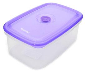 Прямоугольный контейнер для хранения продуктов 24 x 16 x 9.6 см / 2200 мл Fissman 6775Кухонные аксессуары<br><br>