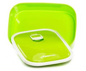 Прямоугольный контейнер для хранения продуктов 17.5 x 12.8 x 5.8 см / 790 мл Fissman 6782Кухонные аксессуары<br><br>
