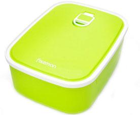 Прямоугольный контейнер для хранения продуктов 19.6 x 14.8 x 7.1 см / 1320 мл Fissman 6783Кухонные аксессуары<br><br>