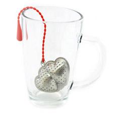 Ситечко для заваривания чая Двойное Сердце Fissman 7436Чайники и термосы<br><br>