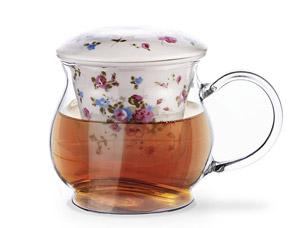 Кружка для чая с керамическим фильтром и крышкой 500 мл Fissman 9271Чайники и термосы<br><br>