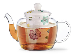 Заварочный чайник Casablanca 800 мл Fissman 9272Чайники и термосы<br><br>