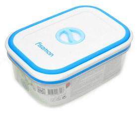 Прямоугольный контейнер для хранения продуктов 14.8 x 10.6 x 5.8 см / 590 мл Fissman 6792Кухонные аксессуары<br><br>