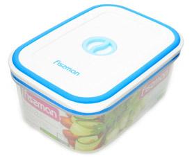 Прямоугольный контейнер для хранения продуктов 17.5 х 12.5 x 7.3 см / 1100 мл Fissman 6794Кухонные аксессуары<br><br>
