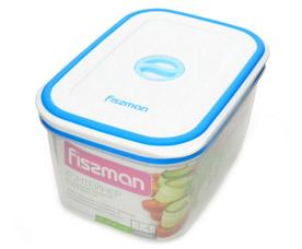 Прямоугольный контейнер для хранения продуктов 17.5 х 12.5 x 9.3 см / 1400 мл Fissman 6796Кухонные аксессуары<br><br>