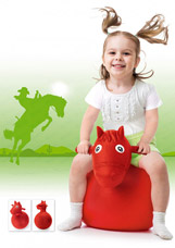Игрушка детская-попрыгунчик Весёлая лошадка Bradex DE 0110спорт<br><br>
