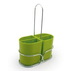 Подставка для хранения столовых приборов 18 х 8 х 26 см Fissman 7062Кухонные аксессуары<br><br>