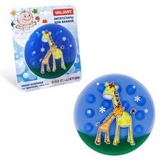 Мини-коврик Жирафы на присосах, набор 6 шт., 12.5x12.5 см Valiant K6-33Товары для ванной комнаты<br><br>