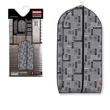 Чехол для одежды объемный, малый, 60x100x10 см, Japanese Black  Valiant JB-CV-100Товары для гардероба<br><br>
