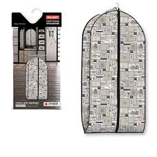 Чехол для одежды объемный, малый, 60x100x10 см, Japanese White Valiant JW-CV-100Товары для гардероба<br><br>