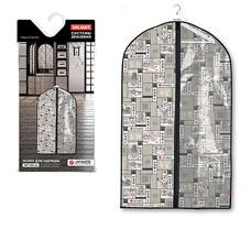 Чехол для одежды с прозрачной вставкой, малый, 60x100x10 см, Japanese White Valiant JW-CW-100Товары для гардероба<br><br>
