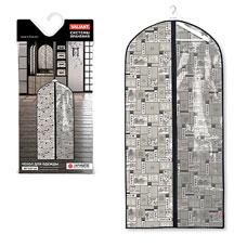 Чехол для одежды с прозрачной вставкой, большой, 60x137x10 см, Japanese White Valiant JW-CW-137Товары для гардероба<br><br>