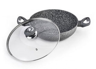 Сотейник Palmanova 28 х 8.1 см / 3.9 л с крышкой Fissman 4477Сковороды<br><br>