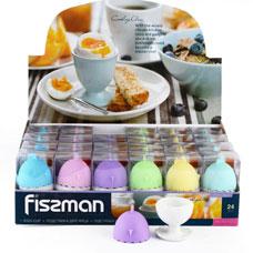 Подставка для яйца с крышкой 5 см Fissman 7517Кухонные аксессуары<br><br>