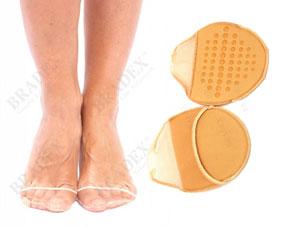 Носочки мини с антискользящими подушечками Ривьера Bradex KZ 0289Комфорт для ног<br><br>