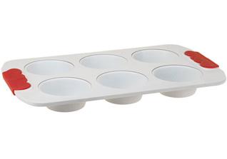 Форма для 6 маффинов 31см с керамическим покрытием PomidOro Q3106 RomaТовары для выпечки<br><br>