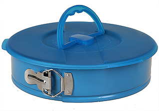 Форма для запекания 26 см круглая с крышкой PomidOro QL2601 DolcezzaТовары для выпечки<br><br>