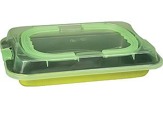 Форма для запекания 36 см прямоугольная с крышкой PomidOro QL3602 DolcezzaТовары для выпечки<br><br>