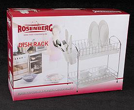 Сушилка для посуды Rosenberg 6816 40.5 х 25.5 х 35.5 смРазное<br><br>