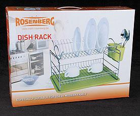 Сушилка для посуды Rosenberg 6818 47.4 х 32.2 х 27.4 смРазное<br><br>