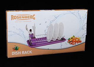 Сушилка для посуды Rosenberg 6828 42 х 23 х 11 смРазное<br><br>