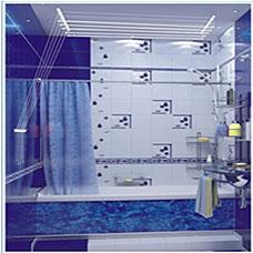 Сушилка потолочная 5 перекладин 1,8м PomidOro 11193 SeccoТовары для ванной комнаты<br><br>