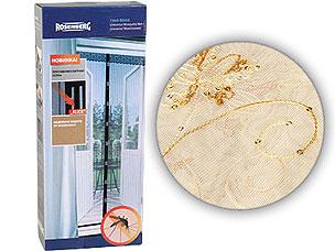 Противомоскитная сетка для балкона 80х220см Rosenberg 7956 beigeСредства против вредителей<br><br>