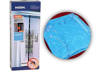 Противомоскитная сетка 100х220см Rosenberg 7949 blueСредства против вредителей<br><br>