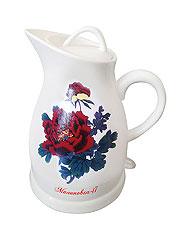 Чайник керамический Великие Реки Малиновка-17Чайники и кофеварки<br><br>
