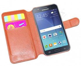 Чехол-книжка универсальный для телефона, коричневый 14х6,7 см Bradex SU 0018Полезные вещи для дома<br><br>